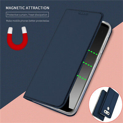 AU7.35 • Buy For LG G6 G7 G8S ThinQ V20 V30 V40 V50 V60 Magnetic Leather Wallet Case Cover