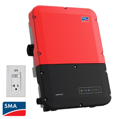 SMA Sunny Boy, SB7.7-1SP-US-40, Grid Tie Inverter, With Secure Power Supply • 1,387.34£