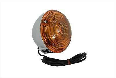 Turn Signal Flat Lens Kit Amber,for Harley Davidson,by V-Twin • 25.12£