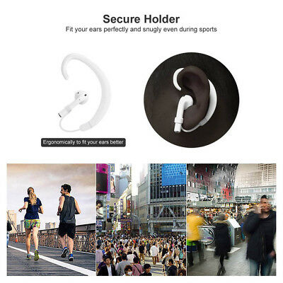 $ CDN4.54 • Buy 1 Pair Strap Wireless Ear Hanging Hook Accessories Holders For Airpods White NEW