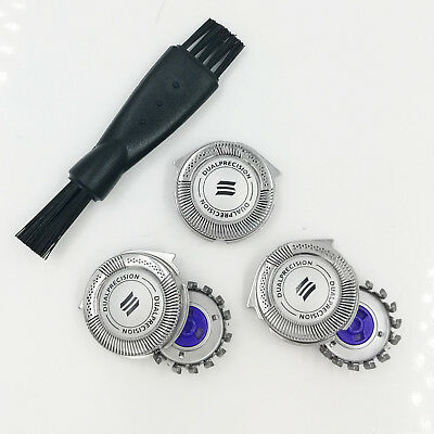 $ CDN13.35 • Buy Replacement For Philips Norelco HQ8 Dual Precision Tripleheader Shaver Heads New