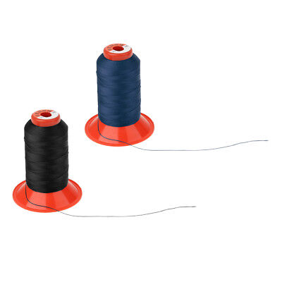 £6.37 • Buy 2x 500 Meters Bonded Nylon Sewing Thread For Upholstery Leather Canvas Craft