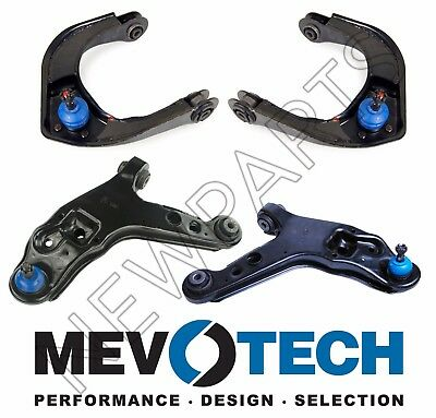 $339.95 • Buy For Chevy Camaro Firebird Front Lower & Upper Sets Of Control Arms & Ball Joints