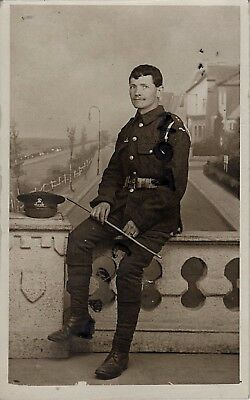 WW1 Soldier Lancashire Fusiliers TF Territorial Wearing Battle Patch • 12.99£