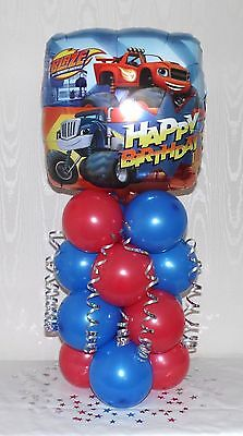 Blaze And The Monster Machines -birthday Party-balloon Table Decoration Display  • 5.99£