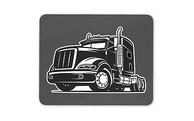 Cool Trucker Mouse Mat Pad - Truck Lorry HGV Vehicle Kids Gift PC Computer #8298 • 6.99£