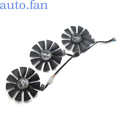 AU108.54 • Buy For ASUS 12V 87MM RX470 RX570 RX580 GTX1070/GTX1080Ti Graphics Card Fan 4/5/6Pin