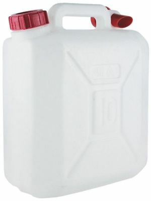 £9.95 • Buy New 10 Litre Food Grade Plastic Water Container With Carry Handle