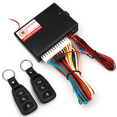 $18.66 • Buy Car Remote Central Door Lock Locking Keyless Entry System W/2 Remote Controllers
