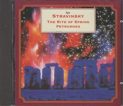 STRAVINSKY  Rite Of Spring/Petrushka  NEW & SEALED CD - Posted From The UK  • 1.99£