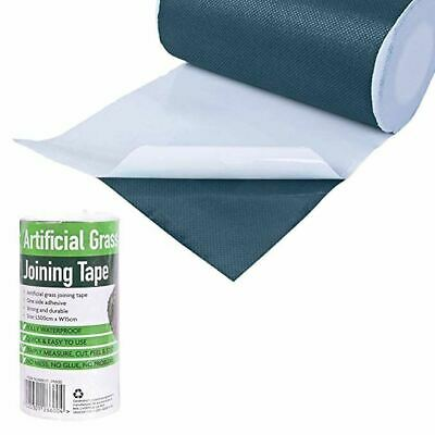 £7.95 • Buy Artificial Grass Self Adhesive Joining Tape Fixing Fake Jointing Lawn Astro Turf