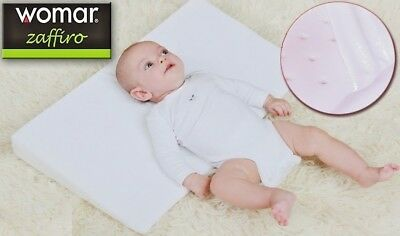 £12.97 • Buy Baby Wedge Pillow AntiReflux Colic Cushion For Pram Crib Cot Bed Flat Head 38x37