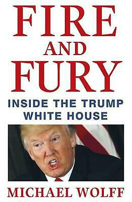 AU43.84 • Buy Fire And Fury: Inside The Trump White House By Michael Wolff (English) Hardcover