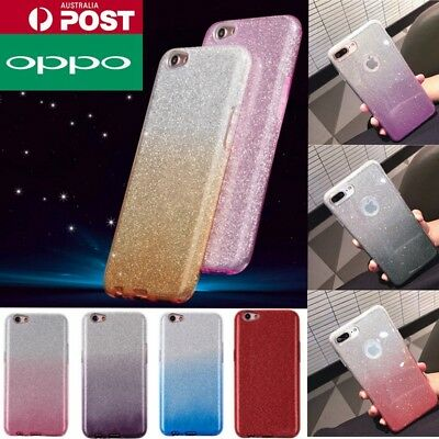 AU6.99 • Buy For OPPO A3s AX5 A57 A73 R11s Bling Glitter Pattern Sparky Gradient Case Cover