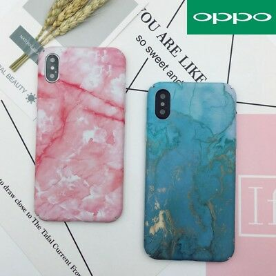 AU9.99 • Buy For OPPO AX7 A3s AX5 A57 R15 R11s Plus Marble Pattern Funny Hard Back Case Cover