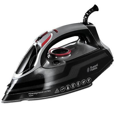 View Details Russell Hobbs PowerSteam Ultra Vertical Steam Iron 3100W Ceramic - Black, 20630 • 35.33£