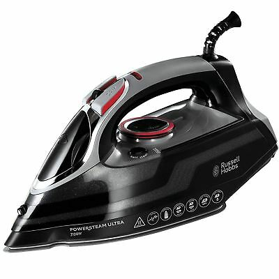 View Details Russell Hobbs PowerSteam Ultra Vertical Steam Iron 3100W Ceramic - Black, 20630 • 38.25£