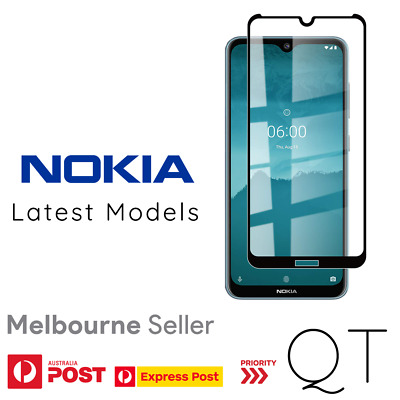 AU6.49 • Buy Genuine Tempered Glass/Film Screen Protector For Nokia 8.3 7 Plus 7.2 6.2 5 4.2