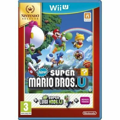 AU39.94 • Buy New Super Mario Bros. U + New Super Luigi U Wii U Game Brand New IN Stock