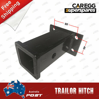 AU27.25 • Buy 2 Inch Long Trailer Hitch Receiver Tube Boat Tow Hitch 4WD 1300kg+