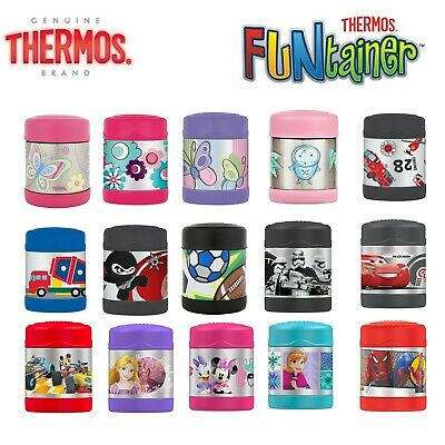 AU24.98 • Buy Brand New THERMOS Funtainer Kids S/Steel 290ml Vacuum Flask Insulated Food Jar