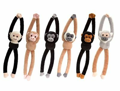 £7.99 • Buy Keel Toys Chattering   Hanging Monkey With Sound 46cm 6 Designs One Supplied
