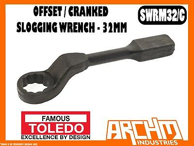 AU161.95 • Buy Toledo Swrm32/c - Offset / Cranked Slogging Wrench 32mm - Metric