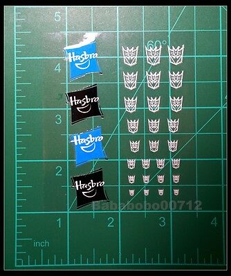 New Decepticons Symbol Hollow Hasbro Mini Stickers For Toy Transformers Instock • 4.60£