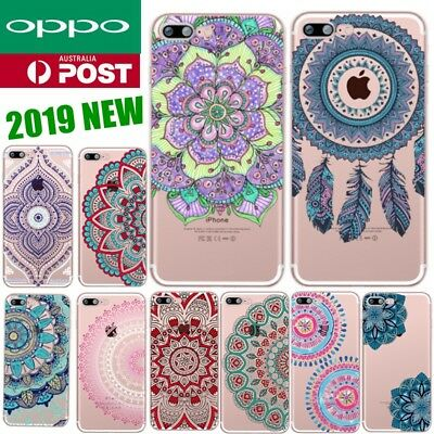 AU5.99 • Buy For OPPO A3s AX5 A57 R11s Plus Lace Mandala Pattern Funny Soft Fashion Case Cove