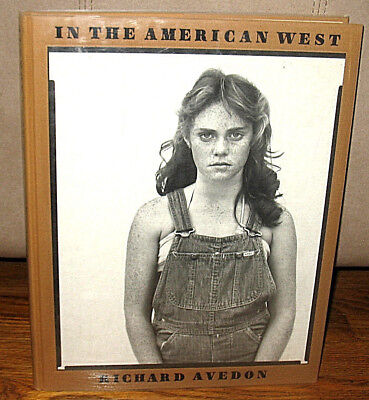 $425.99 • Buy SIGNED Richard Avedon In The American West 1985 1st HC DJ Duotone First Print