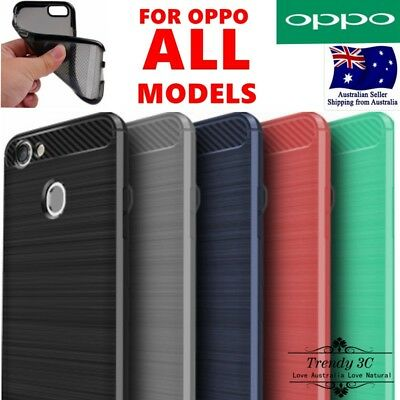 AU8.99 • Buy For OPPO R17 A3s AX5 A57 A73 Soft Protective Shell Plain Shockproof Case Cover