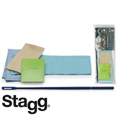 AU20.91 • Buy Stagg SCK-FL Cleaning Kit For Flutes With Swab, Cleaning Rod And Polishing Cloth