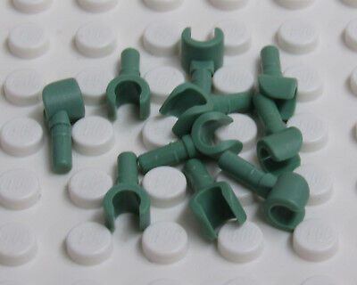 X2 Body Parts LEGO - Sand Green Hands Minifig