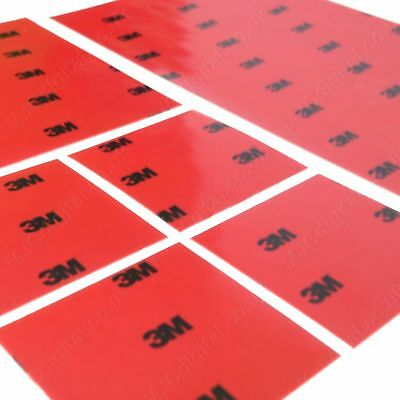 3M™ 100mm X 100mm 0.8mm Sheet Acrylic Foam Double Sided Adhesive Pad For Car • 2.99£