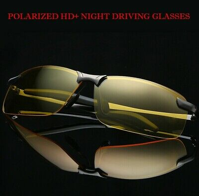 AU12.66 • Buy Tac Polarized Night Vision Glasses Anti-Glare Driving Sports Night View Glasses