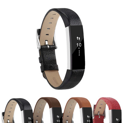 AU21.88 • Buy StrapsCo Genuine Leather Replacement Watch Band Strap For Fitbit Alta & HR