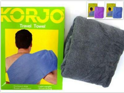 AU25.36 • Buy Microfiber Towel GYM SPORT FOOTY TRAVEL CAMPING HIKING Quick DRYING MICROFIBRE