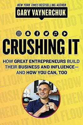 AU32.65 • Buy Crushing It!: How Great Entrepreneurs Build Business And Influence - AndHow You