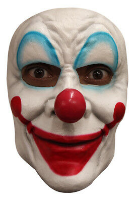 £9.79 • Buy Smiley The Clown Latex Face Mask Scary Halloween Horror