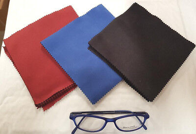 10  Microfiber Micro Fibre Cleaner Camera Lens Glasses Cleaning Cloths UK SUPPLY • 3.49£