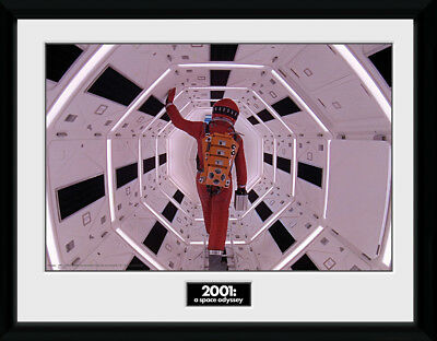 £17.50 • Buy 2001 A Space Odyssey Astronaut Framed Collector Print Sci Film 30x40cm   12x16