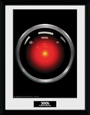 £17.50 • Buy 2001 A Space Odyssey Hal 9000 Framed Collector Print Sci Film 30x40cm   12x16