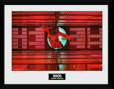 £17.50 • Buy 2001 A Space Odyssey Astronaut Red Framed Collector Print Sci Film 30x40cm 12x16