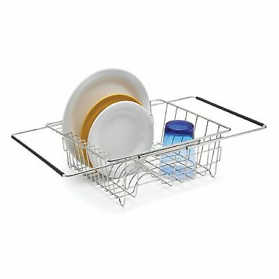 AU43.95 • Buy NEW POLDER EXPANDABLE IN SINK DISH RACK Cutlery Utensil Caddy Drainer Dry Tray