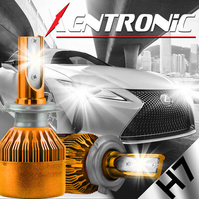 $19.99 • Buy XENTRONIC LED HID Headlight Conversion Kit H7 6000K For Volvo V40 1999-2004