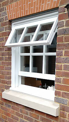 Timber Double Glazed Mock Sash Windows - Made To Measure • 275£