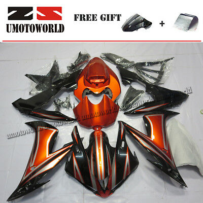 $474.05 • Buy Motorcycle Fairing Kit For Yamaha YZF R1 2004-2006 (Half Tank Cover + Seat Cowl)