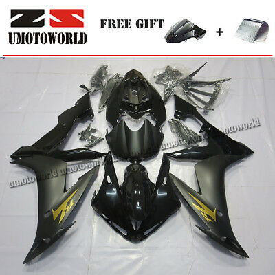 $474.05 • Buy Injection Fairing Kit For Yamaha YZF R1 2004-2006 05 (Half Tank Cover+Seat Cowl)