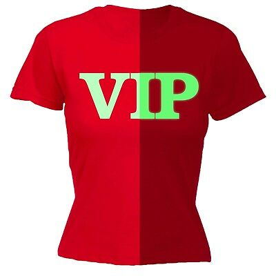 AU14.61 • Buy Womens Funny T Shirt VIP Glow In The Dark Club Event Party Birthday T-SHIRT