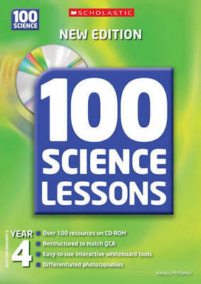 100 Science Lessons For Year 4 (100 Science Less, Kendra McMahon, New • 9.82£
